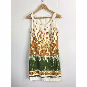 Anthro Anna Sui Perennial Blooms Shift Dress 0